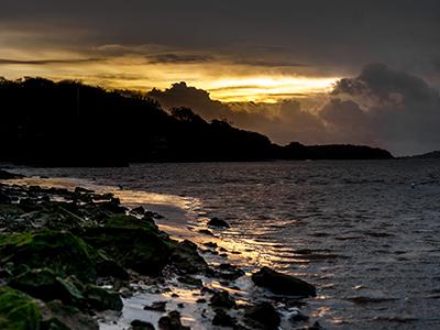 Moody sunset at Arnside